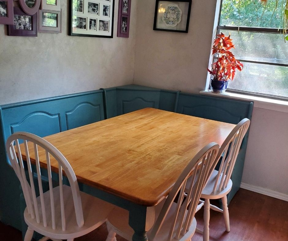 small home daycare layout dining table for eating and crafts and activities