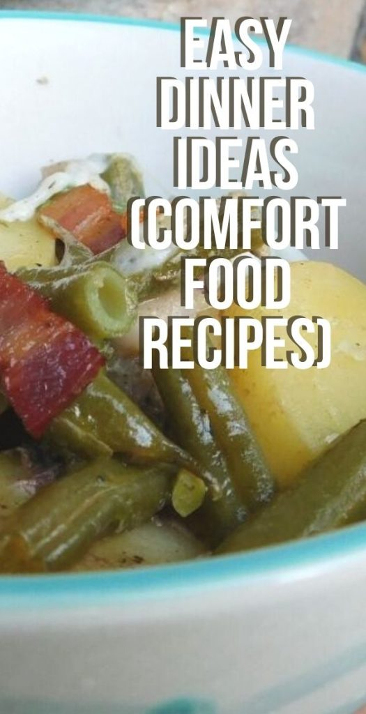 Comfort food recipes are some of my favorites to make, but who wants to spend all day in the kitchen to make them? Check out these easy dinner ideas for comfort foods.