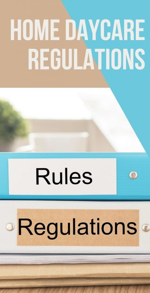 There are many different home daycare regulations depending on where you might live. Each state has its own set of rules. You'll need to check for your area.