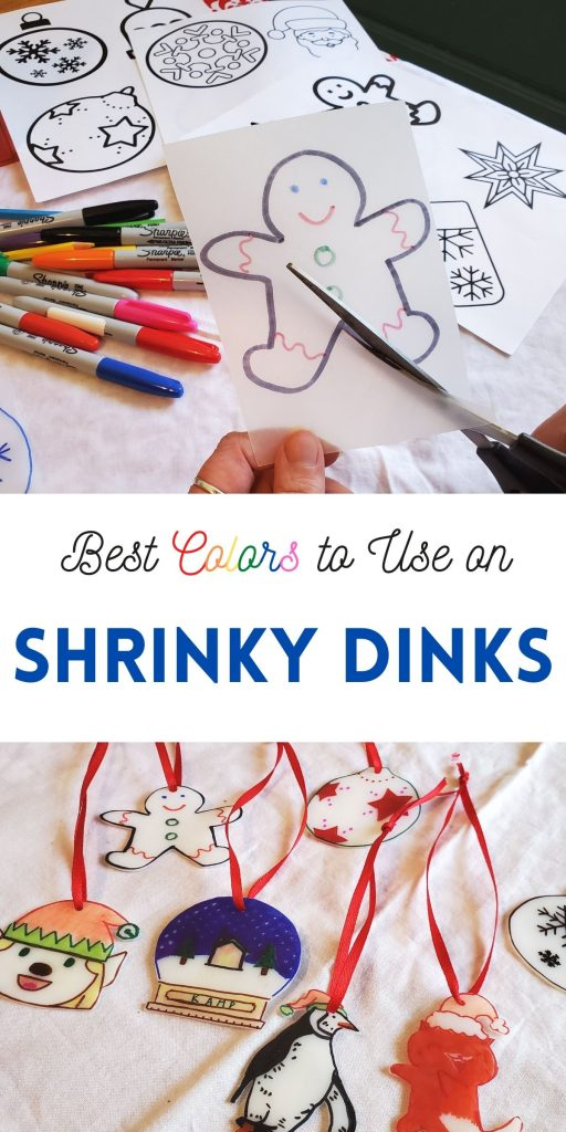 Making Shrinky dinks is so much fun. If you're going to take the time to make something, you want to use the best colors to use on Shrinky dinks for the best outcome.