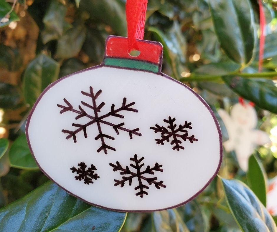 ornament shrinky dink