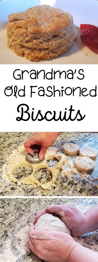There is nothing better than grandma comfort food to make you feel all warm and fuzzy. If you're southern, try my grandma's old fashioned biscuits to fill you full of love.