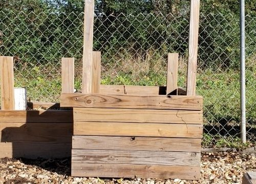 If you have a few scraps or end pieces of wood around you can build a DIY potato tower for your vegetable garden. It's much easier to harvest and a lot of fun.