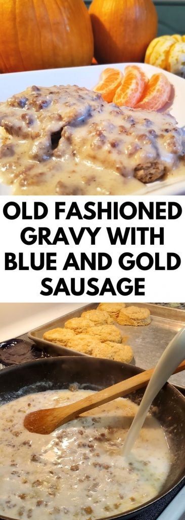 Sausage gravy is comfort food that grandma made that is unforgettable. I've worked for years to perfect her methods of making old fashioned gravy.