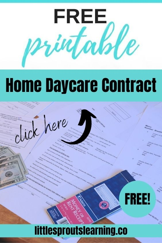 The first thing you need when opening a home daycare is a contract. This sample contract for home daycare will make it a cinch. And you'll avoid a lot of frustration.