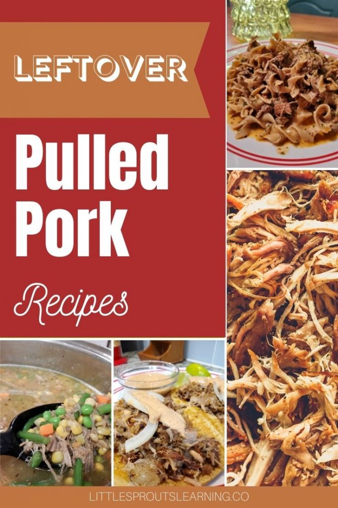 Making pulled pork is super easy, but the pork roast is big and makes a lot of meat. I love having leftover pulled pork to put in tons of dishes.