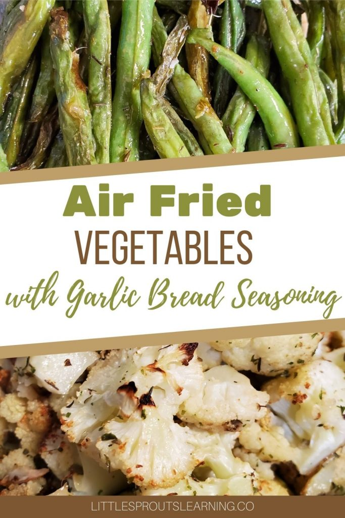 There is nothing we like better at Little Sprouts than roasted vegetables. But air fried roasted vegetables have really upped our vegetable loving game!