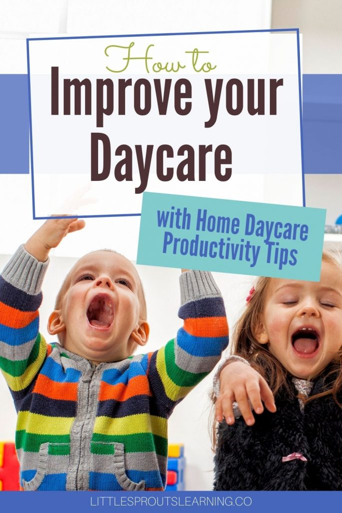 Productivity in home daycare is a must in order to get it all done. Read on for some great tips in how to improve your daycare with productivity tips.