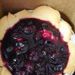 4 inch mini blueberry tart in a box